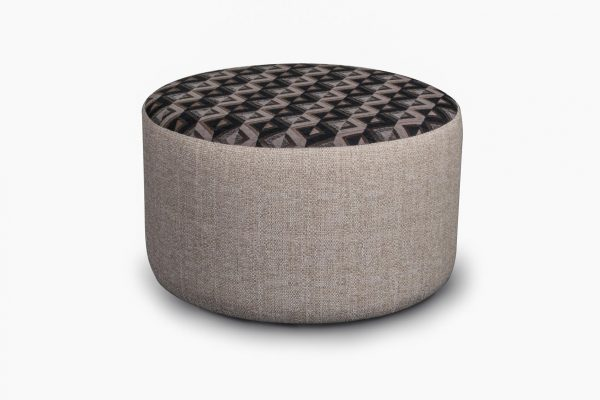 AVALON ROUND FOOTSTOOL